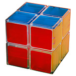 Lanlan 2-Layers Magic Cube Toys Transparent Edge
