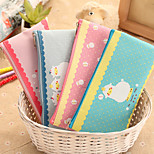 Cute Little Lamb Oxford Cloth Zipper Bag Creative Cartoon Pen Bag