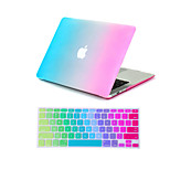 2 in 1 Rainbow Colorful Full Body  Case +Keyboard Cover  for MacBook Air 11