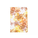 360 Degree Beautiful Peach Blossom  PU Leather Flip Cover Case for iPad Air(Assorted Colors)