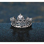 HUALUO®Crown Ring fashion ring size can be adjusted