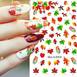 Nail Art Water Transfer Flower/Cartoon/Lips Design Nail Sticker Decals DIY Foils Manicure Tips Decorations