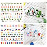 Adesivi 3D unghie / Gioielli per unghie-Adorabile- perDito- diPVC-1pcs-6.6*7.2