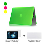 New  Matte Plastic Full Body Case +TPU Keyboard Cover+ Screen Protector for Macbook Air 11