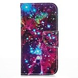 Meteoric Sky PU leather with Stand Case for iPhone5S/SE 4.0