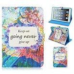 Special Design Novelty Butterfly Love Cats PU Leather Folio Case Holster for iPad Mini 3/2/1