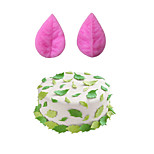 Leaf Style Sugar Candy Fondant Cake Molds  For The Kitchen Baking Molds