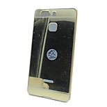 Plated Metal Frame and Mirror Backplane Phone Case for Huawei P9