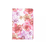 360 Degree Beautiful Peach Blossom  PU Leather Flip Cover Case for iPad Mini 1/2/3(Assorted Colors)