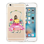 Queen's Favorites Soft Transparent Silicone Back Case for iPhone 6/6S (Assorted Colors)