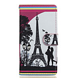 Love Pattern PU Leather Full Body Case with Stand for Wiko Fever