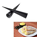 Nonstick Aluminum Cream Horn Dessert Mold Case Puff Pastry Tool,Set of 2