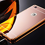 Luxury Aluminum Metal Mirror PC Back Case Cover For Huawei Honor 6 Plus/Honor 4X/Honor 5X/畅享 5S