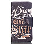 Cross Pattern Leather Wallet Cover Case for Acer Liquid Z330 Z320 M320 M330 - English Characters