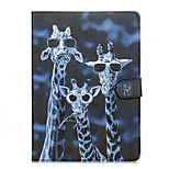 Crazy Deers Patter PU Leather Full Body Case with Stand for iPad Air3
