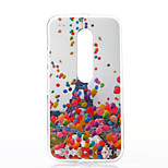 Balloon Tower Pattern TPU Soft Case for Motorola Moto G3