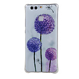 Mixed color dandelion Shockproof as TPU soft shell cover Case for Huawei Ascend P9