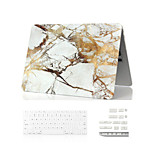 3 in 1  Marble Full Body Case+ Keyboard Cover+Dust Plug for Macbook Air 11