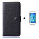 PU Leather Wallet Flip Case For Samsung Galaxy A9 + Screen Protector
