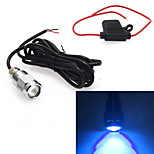 9W Led Blue Underwater Marine Boat Drain Plug Light For Wakeboard Diving/Fishing