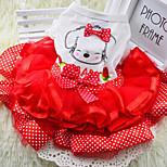 Sweety Bow Lace Pet Dress