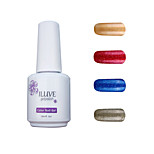 ILuve Gel Nail Polish Set - Pack Of 4 - Long Lasting 3 Weeks Soak Off UV Led Gel Varnish – For Nail Art #4049