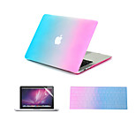 3 in 1 Rainbow Colorful Full Body  Case +Keyboard Cover+ Screen Protector for MacBook Air 11