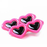 Heart Bow Pet Sunglasses Hairpin Dog Hair Clip Pets Head Flower for Dogs and Cats