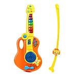 Electronic Organ ABS Blue / Yellow / Orange Music Toy For Kids