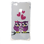 Sweet Owl Family Shockproof as TPU soft shell cover Case for Huawei Ascend P9 lite P9 mini