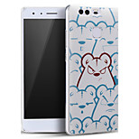 Cute Angry Bear Soft Protective Back Cover Ultra Thin Huawei Case for Huawei Ascend P9
