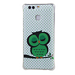 Dozing Owl Shockproof as TPU soft shell cover Case for Huawei Ascend P9