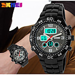 SKMEI Men's Digital Silicone Band 30m Water-resisstant Multi-Functional Sports Watch
