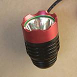 Luzes de Bicicleta LED 3 Modo 1000 Lumens Foco Ajustável / Prova-de-Água / Emergência LED USBCampismo / Escursão / Espeleologismo /