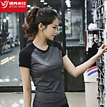 Women's T-shirt Sport Breathable / Sweat-wicking / Soft Yoga / Pilates / Fitness / Running-Others