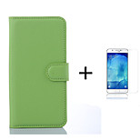 PU Leather Wallet Flip Case For Samsung Galaxy  A3(2016) A310 A310 A3100 A310F + Screen Protector