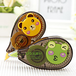 2PCS Creative Correction Tape Lovely Students Stationery(Style random)