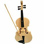 Violin  Wood 3D Puzzles Diy Toys