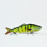 Mmlong 8cm 8.7g 3 Segments Lifelike Baits Slow Sinking Crankbait Swimbait Artificial Fishing Lure MML03B-1