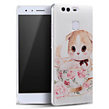 Cute Little Cat Soft Protective Back Cover Ultra Thin Huawei Case for Huawei Ascend P9