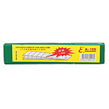 Stainless Steel Utility Knives Blade for Office 12*5cm(10  Pieces)