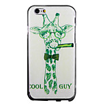 Cool Guy IMD Printed TPU Soft Back Cover for iPhone 6/6S(Assorted Colors)