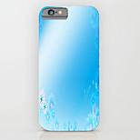 Caso del patrón de la PC del teléfono gradiente de la cubierta del caso difícilmente para el iPhone5 / 5s