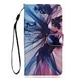 Phantom Pattern PU Leather Full Body Case with Stand for Wiko Rainbow Jam 4G