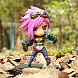 League of Legends The Piltover Enforcer 14CM Anime Action Figures Model Toys Doll Toy
