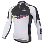 XINTOWN Men's Cycling Limits Bacteria Long Breathable Quick Dry Sleeve Jersey