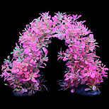 Simulation Gummi Wasserpflanzen Ornament Dekoration für Aquarium