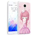 XIMALONG  Modern Girl    phone shell painted reliefs apply for MEI ZU M3 NOTE