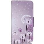 Cross Pattern Phone Leather Wallet Case for Acer Liquid Jade Z - Dandelion Pattern