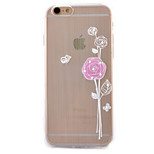 A Flower Coloured Drawing Slim TPU Material Phone Case for iPhone 6/6S